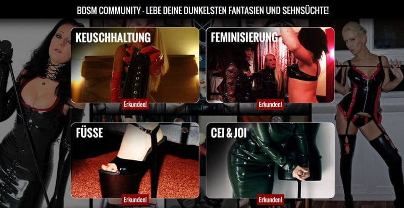 bdsm community geschichten von lesben